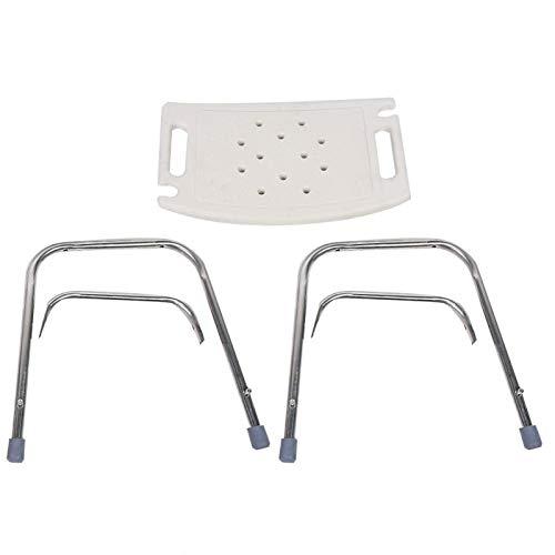 Silla de ducha, asiento de ducha antideslizante cojín de bañera para bañera taburete de bañera asiento para ancianos con agujeros para un uso más cómodo al ducharse