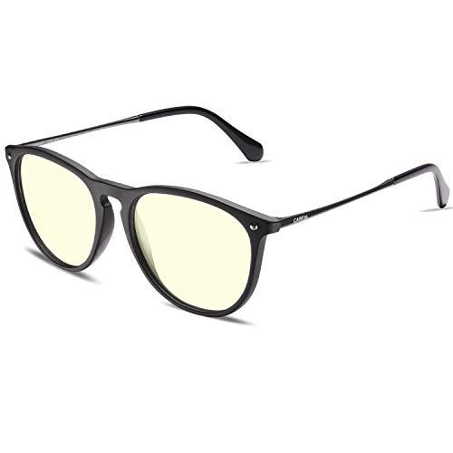 Carfia - Gafas de sol vintage para hombre y mujer, polarizadas con protección UV400, para conducir, viajes, luz azul ligera