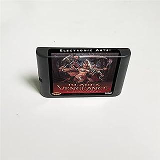 Lksya Blades of Vengeance - Carte de jeu MD 16 bits pour cartouche de console de jeu vidéo Sega Megadrive Genesis (coquill...
