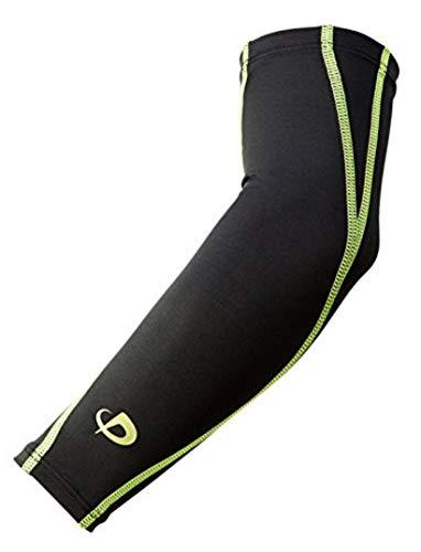 ファイテン スポーツスリーブX30腕用2枚ブラック×グリーンS [9053]