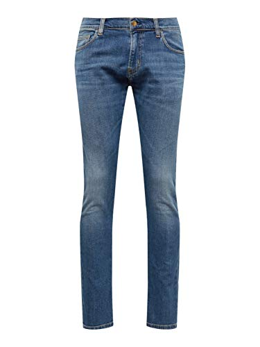 Carhartt WIP Herren Jeans Rebel Pant Blue Denim 32