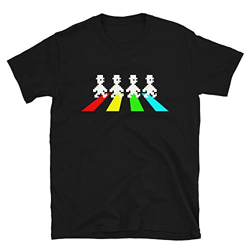 Jet Set Willy Abbey Road Funny T-shirt, Unisex S to 3XL