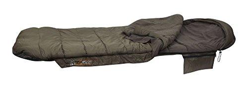 Fox Evo-tec ERS1 sleeping bag 210x88xm - Schlafsack für Karpfenangler & Wallerangler, Angelschlafsack, Anglerschlafsack zum Campen