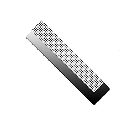 Fovely Diamant Malerei Lineal Diamant Zeichenwerkzeug, DIY 5D Diamant Malerei Edelstahl Net Screen Lineal Blank Grids Tool Kunsthandwerk