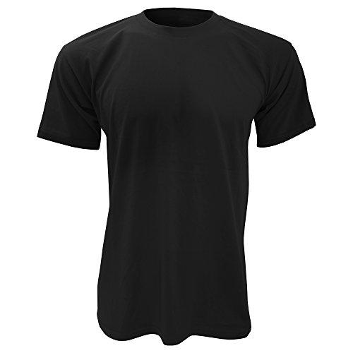 B&C Exact 150–Maglietta a maniche corte, da uomo Black XL