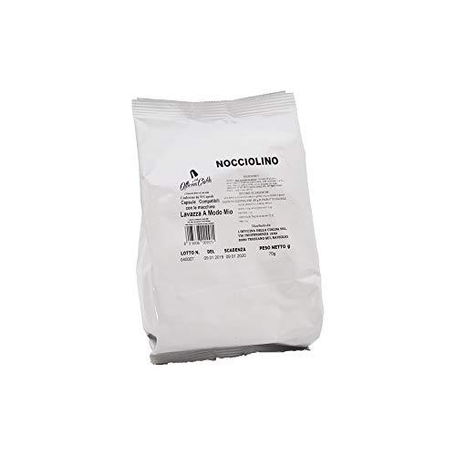 ODC MADE IN ITALY Kit mit 100 Kapseln Aroma NOCCIOLINO Kompatibel mit Lavazza A Modo Mio Kaffeemaschinen.