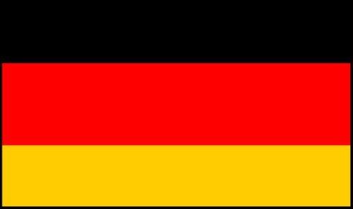 Flag Bunting (8 pieds, le papier de qualité) - Allemagne [Jouet]