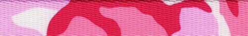 Country Brook Design 5/8 Inch Princess Camo Polyester Webbing, 10 Yards