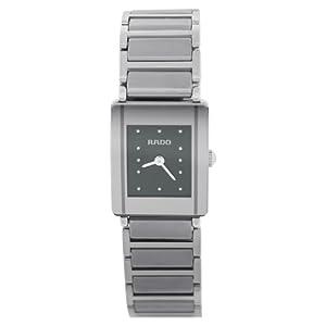Rado Integral Womens Black Dial Ceramic Watch R20488172