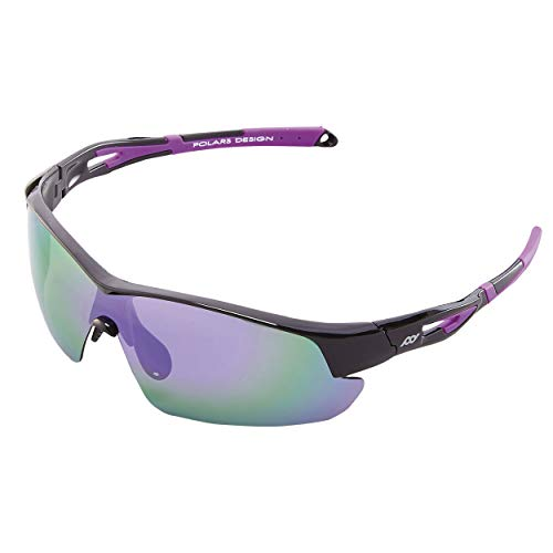Polarized TR90 Men and Women Sports Sunglasses UV Protection for Cycling Golf
