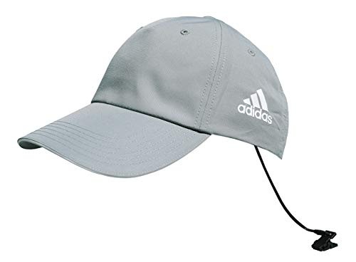 adidas Gorra de béisbol funcional para hombre y mujer, color: gris