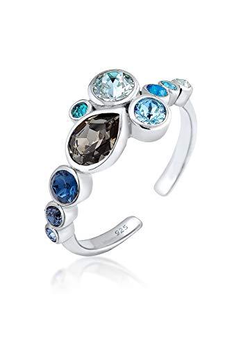 Elli ring sterling zilver 925 Swarovski-kristal maat 54 0601181917_54