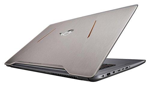 """Asus ROG GL502VS-GZ147T Notebook, Display da 15.6"""" FHD IPS (1920 x 1080) LED, Processore Intel i7-7700HQ, 2.8 GHz, SSD da 256 GB, HDD da 1024 GB, 16 GB di RAM, Scheda Grafica nVidia Geforce GTX 1070"""