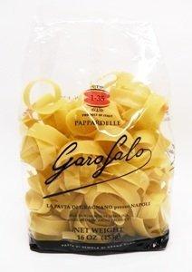 Garofalo No.1-35 Pappardelle Semolina Pasta, 16 oz (Pack of 2)