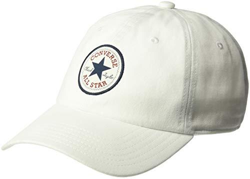 Converse Unisex Gorra de béisbol Tipoff Chuck Baseball Cap MPU Blanca