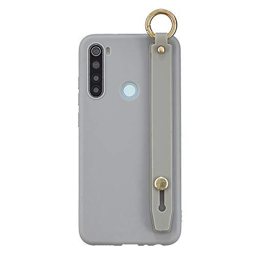 Redcolourful para Red-mi 8 / 8A / Note 8T Cubierta del teléfono móvil Carcasa de TPU Mate con Cuerda de…