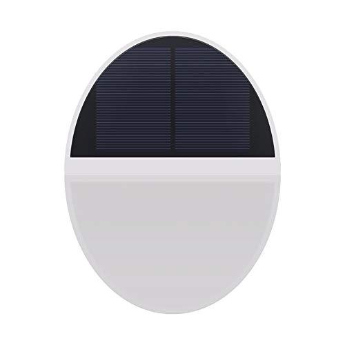 Lámpara de pared solar MLXLX 48LED luz solar para jardín con sensor de radar brillante para exteriores