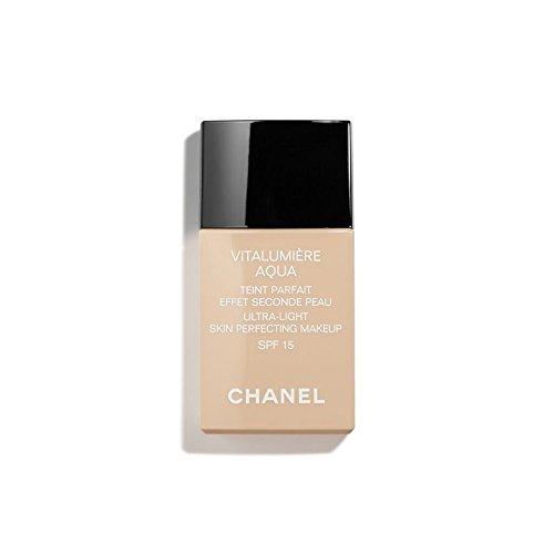 Chanel Vitalumiere Aqua Fondotinta Fluido Colore 42 Beige Rosé