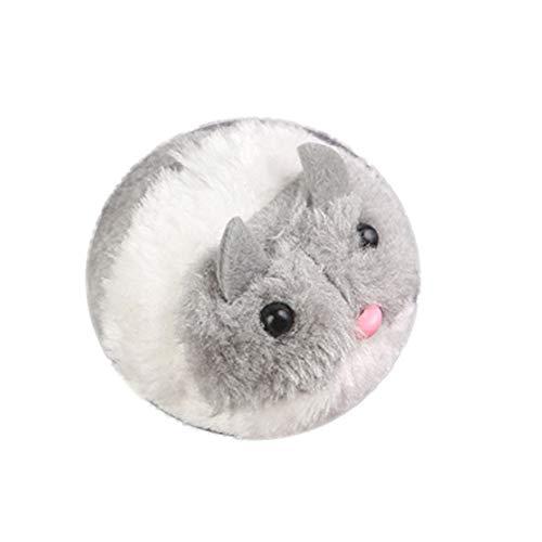 mAjglgE Hundespielzeug für Hunde und Katzen, Plüsch, Laufende Maus, Tier, Schwanz zum Laufen, interaktives Geschenk