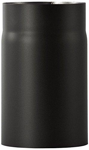 Bertrams 196812 Senotherm UHT-HYDRO Tuyau de poêle 2 mm 25 cm laqué noir, Durchmesser 130mm