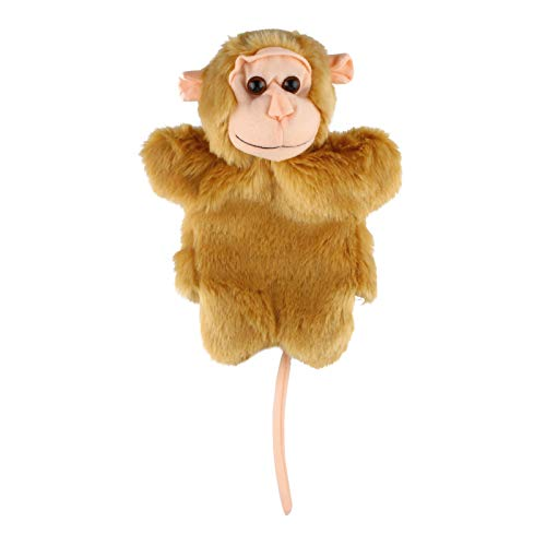 Andux Marioneta de Felpa Linda Juguete de Peluche Suave (SO-32 Mono)