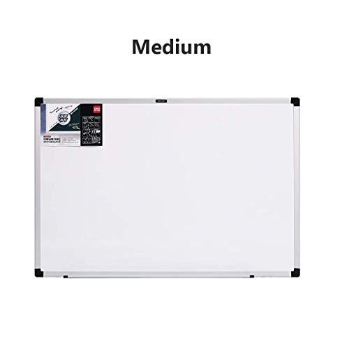 Magnetisches Trockenlösch-Whiteboard-Set mit verstellbarer Stiftablage und drehbarem Haken Aluminiumrahmen Für Klassenzimmer Schule Büro