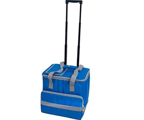 31N8SwReoUL - PAPILLON 5080126 Nevera Bolsa Termica 38 litros Azul Trolley
