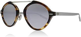 Dior DIOR SYSTEM STRIPED HAVANA MATTE SILVER/SILVER 49/23/150 men Sunglasses