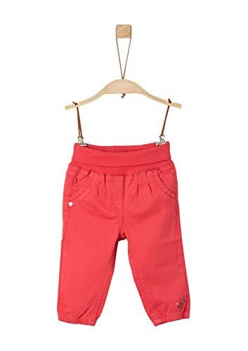 s.Oliver Baby-Mädchen 65.908.73.2123 Hose, Rot (Red 3420), (Herstellergröße: 80)