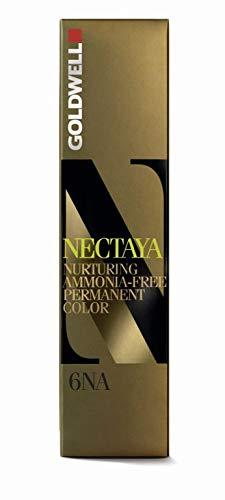 Goldwell Nectaya Haarfarbe ohne Amoniak 6NA dunkel-natur-aschblond, 1er Pack (1 x 60 ml)