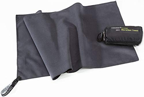 Cocoon Microfiber Towel Ultralight, M, Manatee Grey
