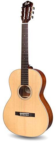 Guild Guitars P-240 12-Fret Parlor Memoir Guitarra acústica, natural, tapa sólida, colección Westerly