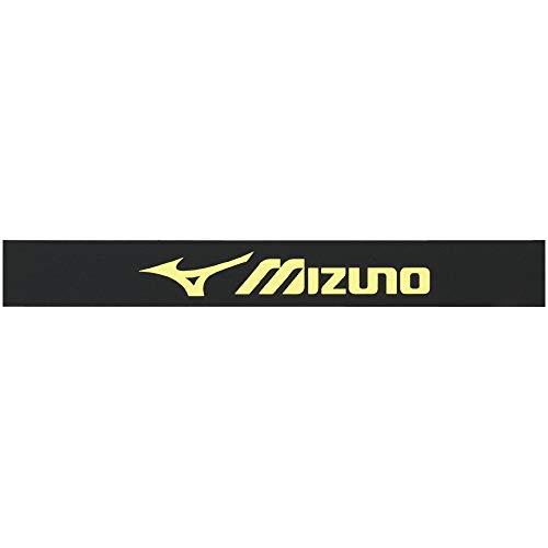 MIZUNO(ミズノ) 硬式・ソフトテニス/バドミントン エッジガード3セット入り 63JYA861 36:ブラック×ライム
