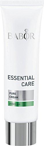 BABOR ESSENTIAL CARE Pure Cream, leichte Anti-Pickel-Creme für unreine Haut, porenverfeinernd, lindert Hautunreinheiten, klarer & frischer Teint, 1 x 50 ml