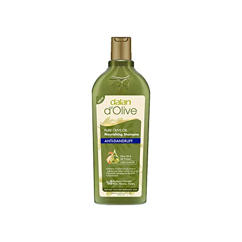 Dalan D Olive Olive Oil Shampooing Range 400ml, S'il vous plaît Sélectionnez Option (Anti Pellicules)