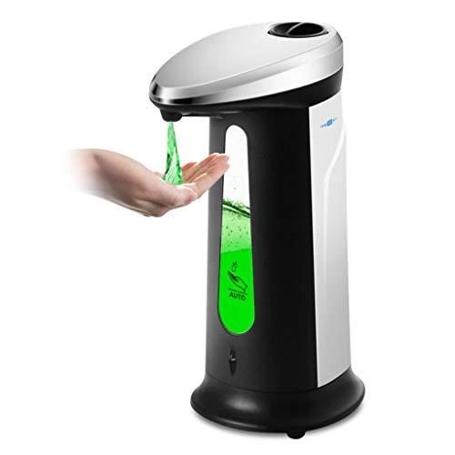 Dispensador de jabón de baño 400ml automático de líquidos Dispensador ABS Cocina Baño sensor inteligente sin contacto infrarrojo Liquid Dispensers Dispensador Dispensadores de ducha Dispensador de jab