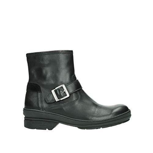 Wolky Comfort Stiefel Nitra WP - 24000 schwarz Leder - 39