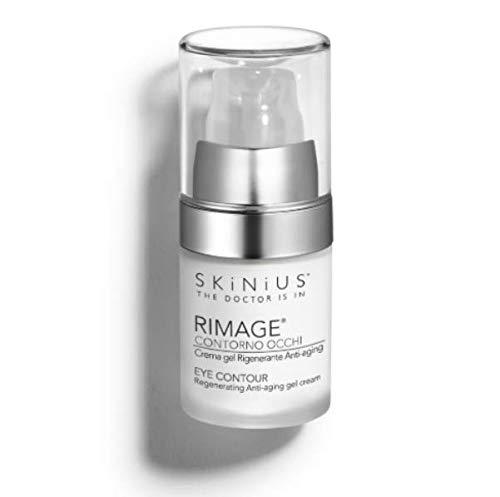Skinius - RIMAGE Crema Gel, Contorno Occhi, Rigenerante, Anti-aging, 15ml