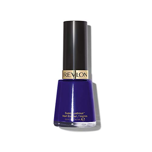 Revlon Nail Enamel, Chip Resistant Nail Polish, Glossy Shine Finish, in Blue/Green, 490 Urban, 0.5 oz