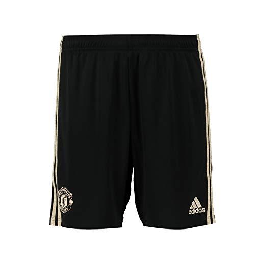 Manchester United FC - Herren Auswärts-Shorts - Offizielles Merchandise - Geschenk für Fußballfans - Schwarz - 3XL