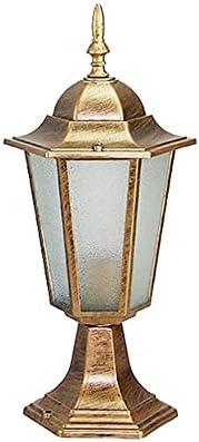 PWV Bronze Outdoor Detroit Mall Waterproof Victorian Glass with Lantern Pier Discount mail order