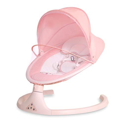 Jack YLQX Elektrische wieg Baby Swing Automatisch, Slimme Slaap, Bionische Shake, Elektrische wieg Bed, Geen Rocking Noise Kleur heeft: Grijs, Roze, Groen