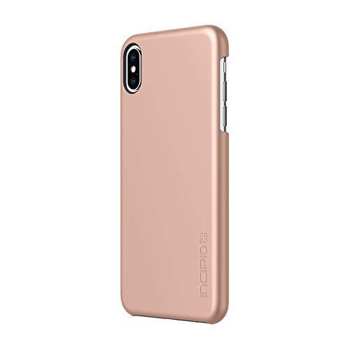 Incipio Feather Schutzhülle für Apple iPhone XS MAX - Rose Gold [Ultra Dünn I Sehr Leicht I Matte Soft-Touch Oberfläche I Qi kompatibel] - IPH-1762-RGD - Fundas para teléfonos móviles (Apple)
