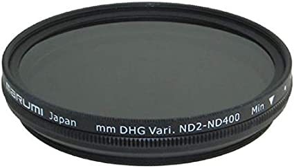 Amazon Com Marumi Nd2 Nd400 52mm Dhg Variable Filter Camera Lens Neutral Density Filters Camera Photo