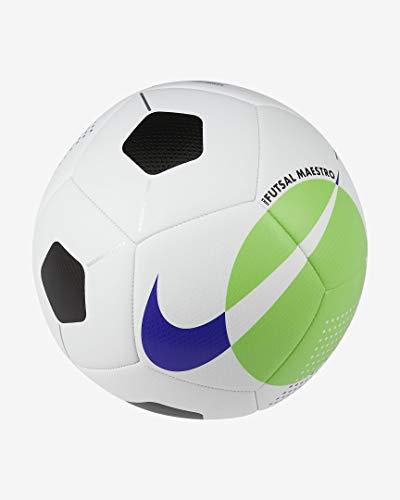 Nike Nk Futsal Maestro SC3974 102 - Balón de fútbol para Hombre, Color Blanco, Verde y Azul