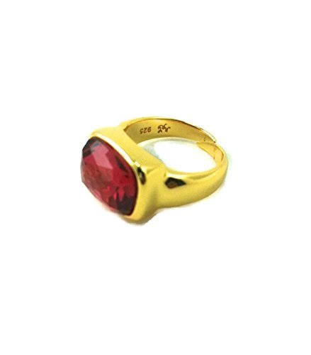 Viceroy Anillo Plata Mujer 9005A012-57 Color Rubi