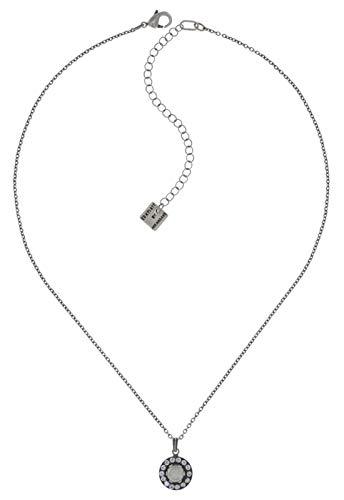 Konplott Simply Beautiful Ohrring Exklusiver Designer-Modeschmuck mit Swarovski Elements | Ohrhänger mit Glitzer-Steinen für Damen in Weiß, Rosa, Rot, Blau, Grün