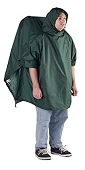 Outdoor Products Poncho Backpacker  Forest Green