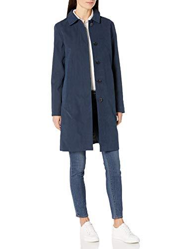 Amazon Essentials Water-resistant Trench Coat raincoats, Marineblau, S