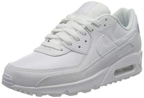 Nike Air Max 90 LTR, Scarpe da Corsa Uomo, White/White-White, 45 EU